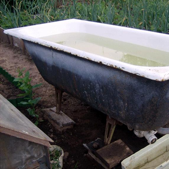 Как можно использовать старую ванну? Советы опытных дачников
