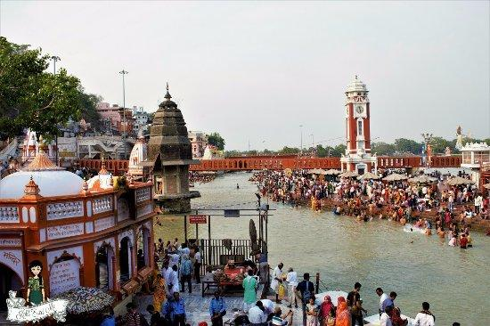 Image result for har ki pauri haridwar