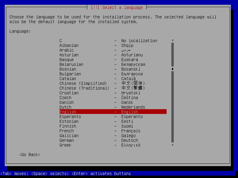 Installing the ISO Debian for Elastix 5