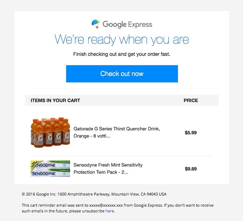 google express example