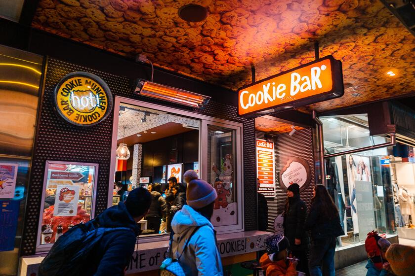 Cookie Bar Queenstown.