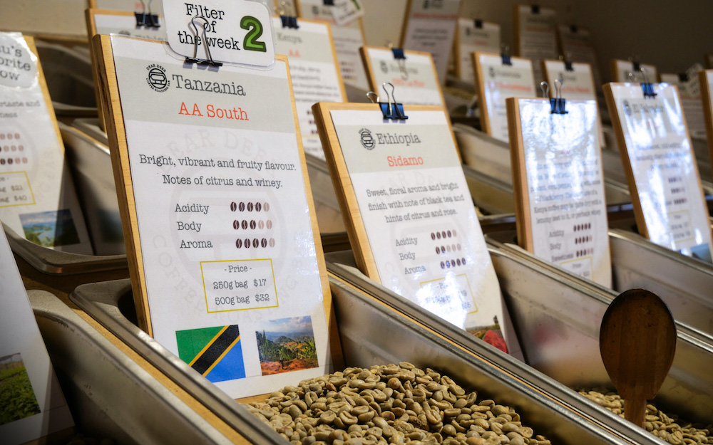 coffee samples for sale