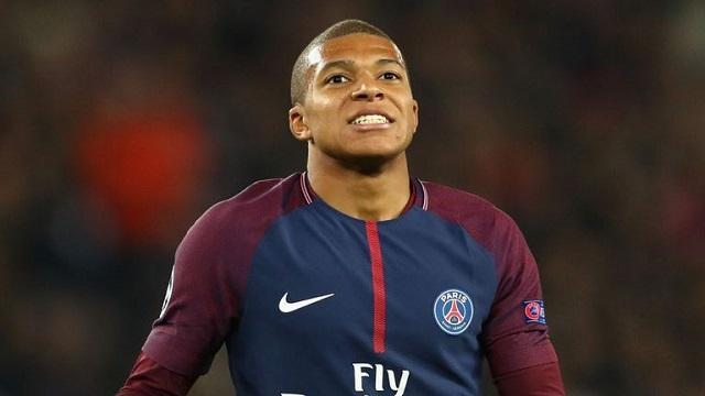 Kylian Mbappé hiện đang thi đấu cho clb Paris Saint-Germain