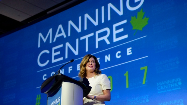 Interim Conservative leader Rona Ambrose spoke at the start of the Manning Centre conference Friday, where recent research was discussed on the political values of voters under 35 and how they relate to the conservative movement.