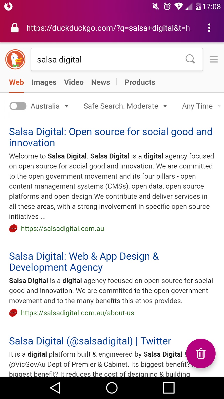 Salsa Digital: Which browser should you use?