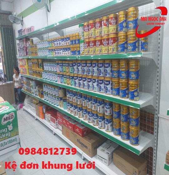 kệ đơn siêu thị