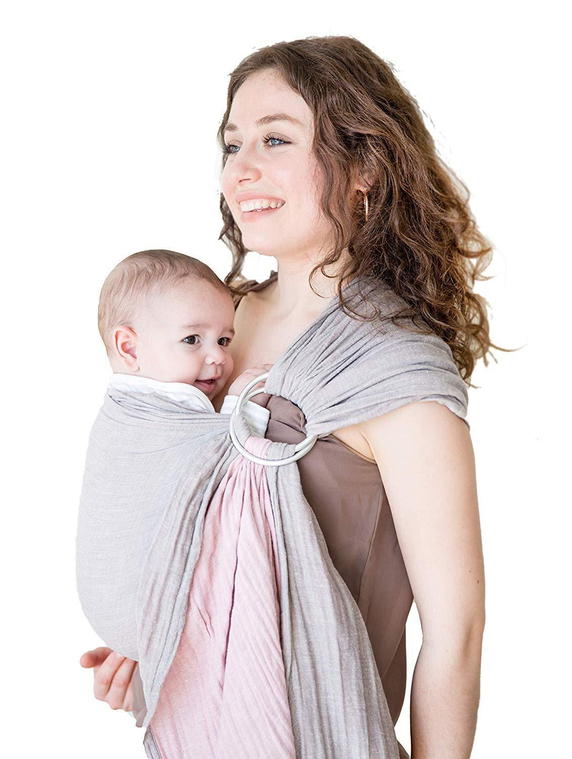 Mebien, Touche de La Nature's Extra Soft Turkish Cotton Muslin Baby Slings