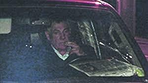 Олександр Омельченко у власному автомобілі після трагедії