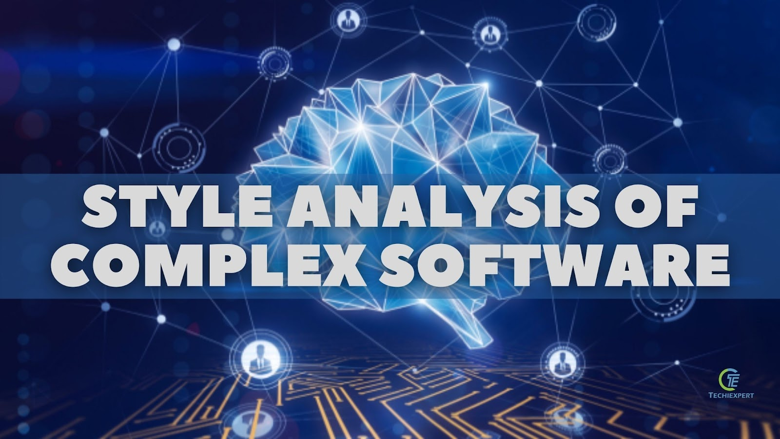 Style analysis of complex software