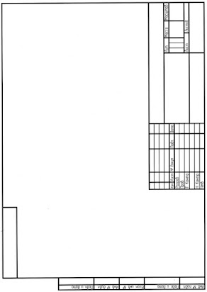 Шаблон чертежной рамки а4 альбомная