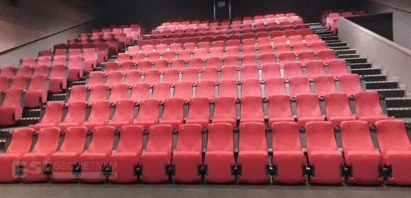 Ghế rạp chiếu phim GSC được sử dụng rộng rãi trong các rạp chiếu phim