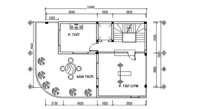 6 mẫu thiết kế nhà ống, nhà phố có thang máy