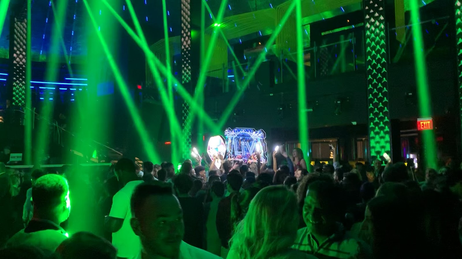 Miami Beach VIP Party LIV Nightclub Spring Break