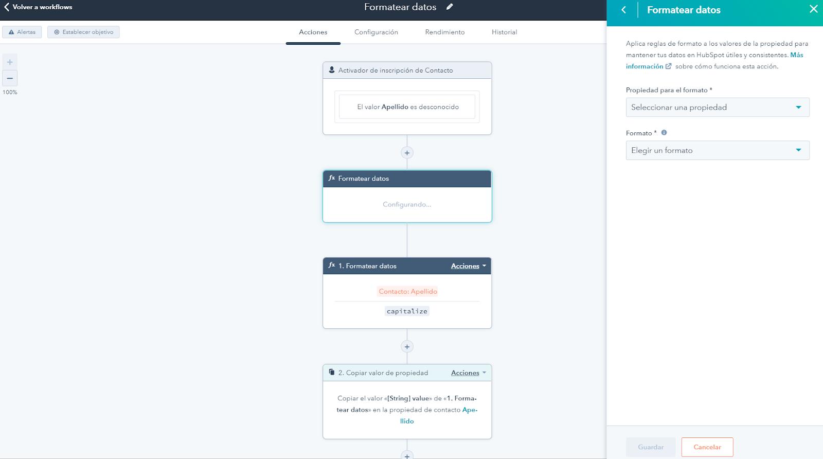 Automatización de datos Operations Hub