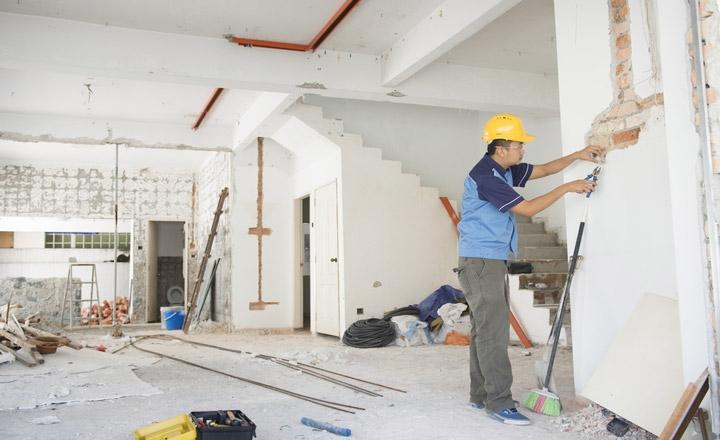 Thi công cải tạo sửa chữa nhà cửa
