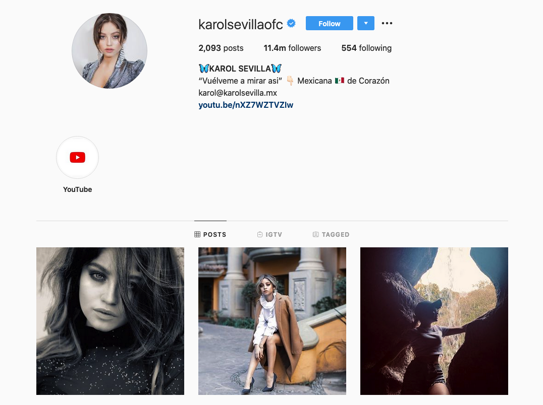 Karol Sevilla | Buzzing Entertainment Influencer | Instagram Profile