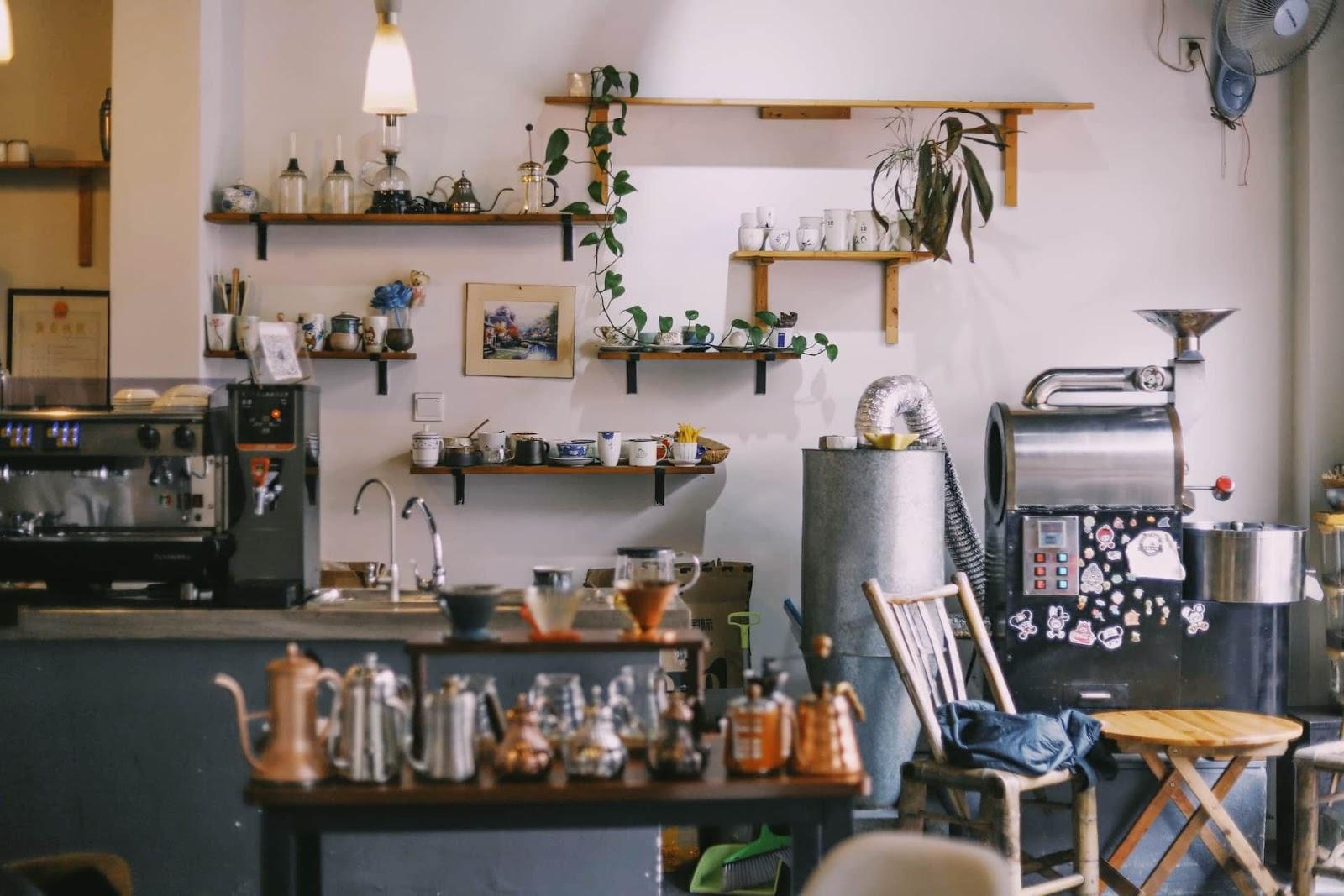Проведение инвентаризации в кафе