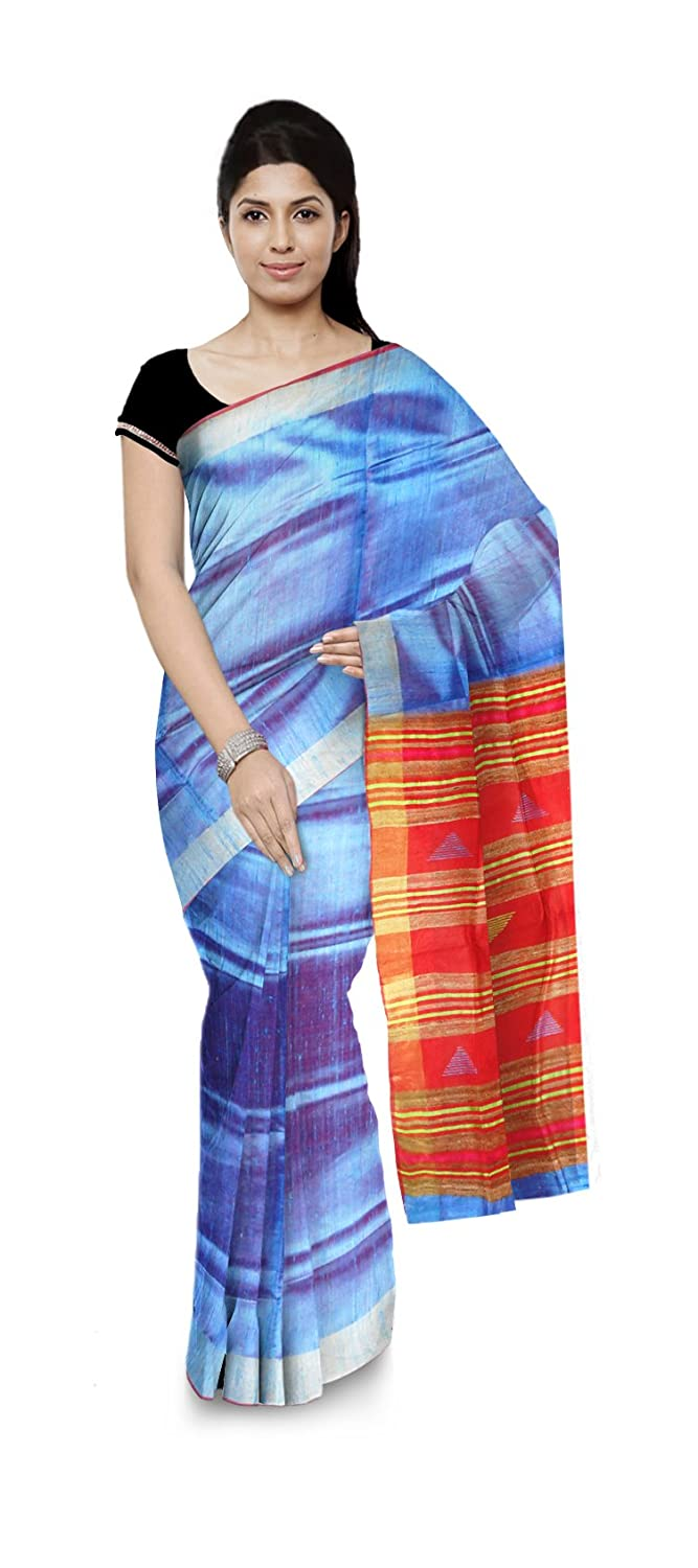 Bhagalpuri Handloom Raw Silk Saree