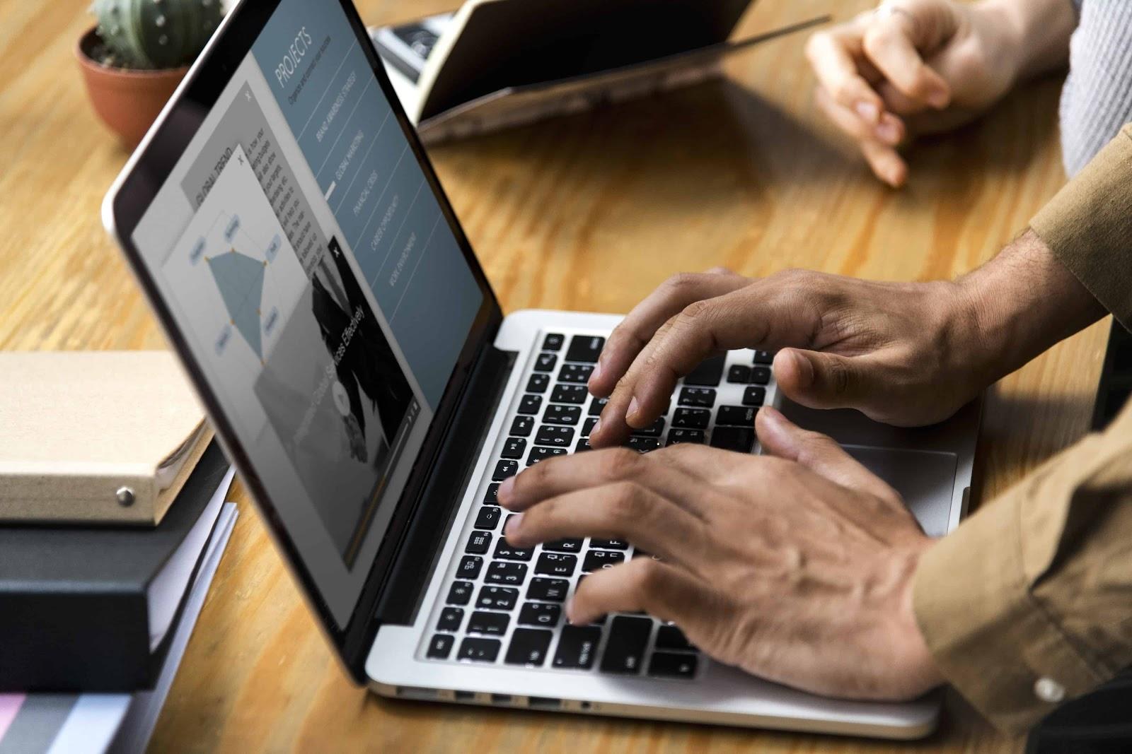 Communicating Virtually on a Computer