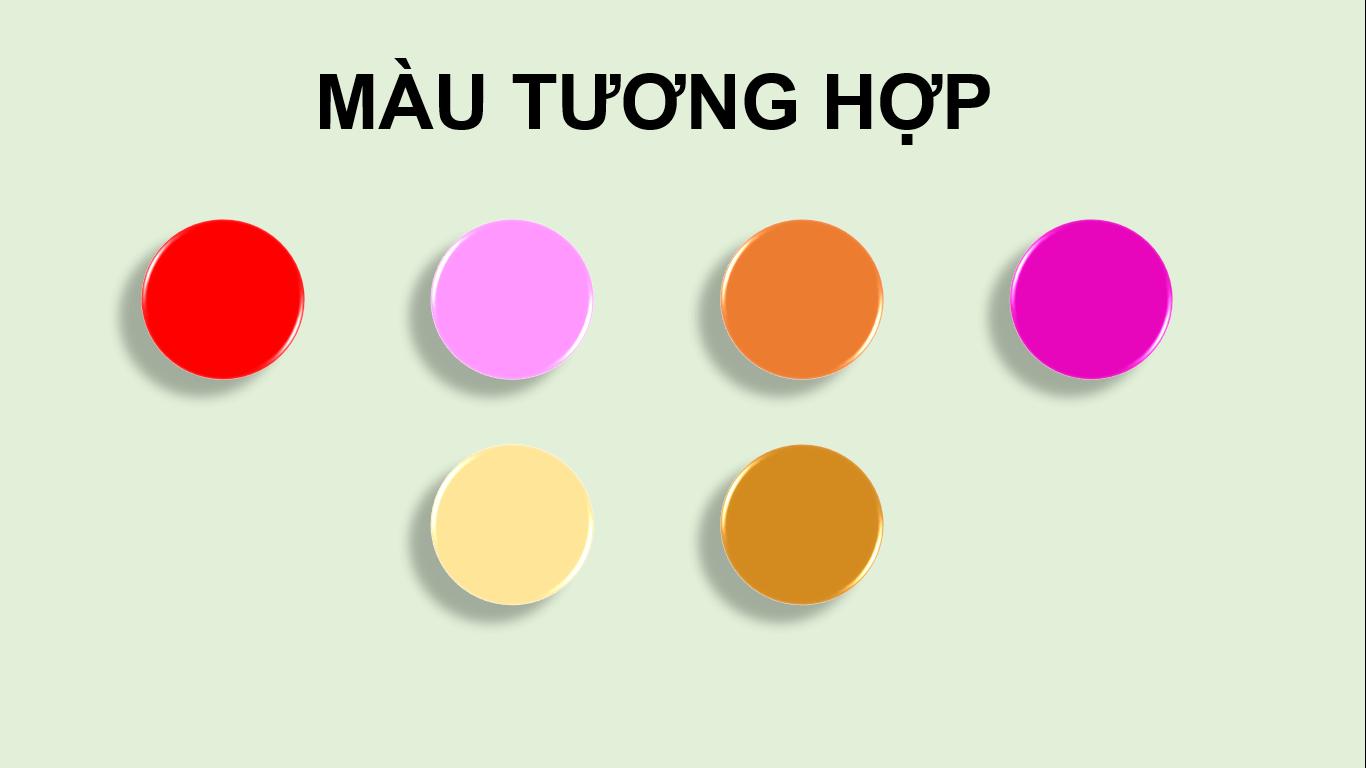 Những màu tôn tương hợp với mệnh Thổ