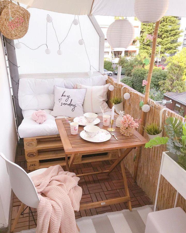 балкон декор
