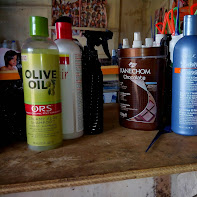 hair products used