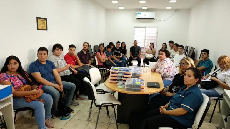 Cuatrocientas personas se formaron como instructores de Robótica Educativa
