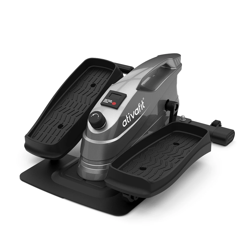 ATIVAFIT Under Desk Elliptical Bike is a compact elliptical with reasonable price that can be used while seated as well as standing