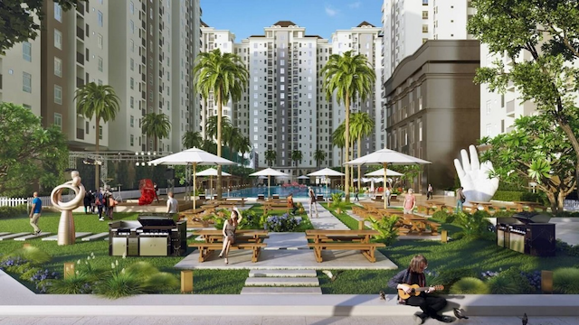 Dự án căn hộ C River View Bình Dương toạ lạc tại vị trí đắc địa