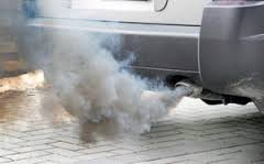 Image result for car exhaust pollution