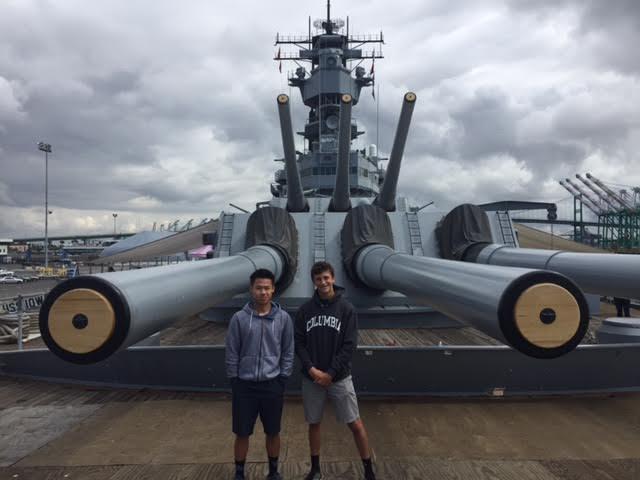 The World War II Blog: Tour The Battleship USS Iowa