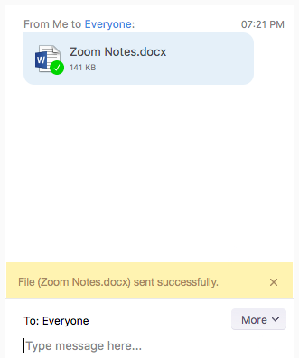 file sharing in zoom
