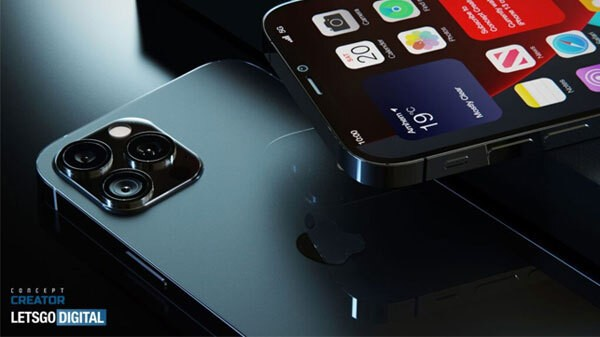 iPhone 12s Pro With Under Display TouchID