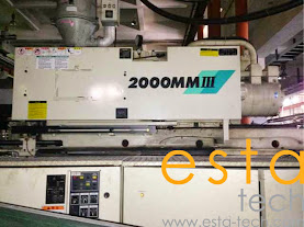 Mitsubishi 2000MMIII-340 (2005) Plastic Injection Moulding Machine