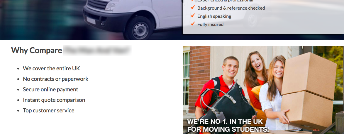 Man with a Van (blurred)