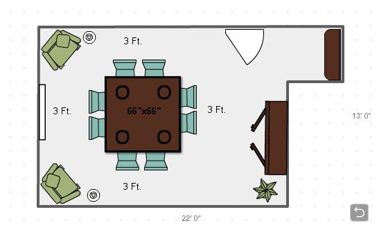 Dining Room Table Dimensions For 8 Home Jamesjames Furniture Springdale Arkansas