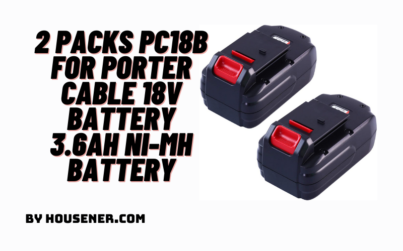 2 Packs PC18B for Porter Cable 18V Battery