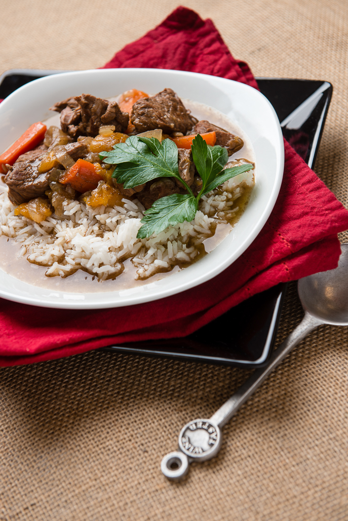 Moroccan Spiced Lamb Stew from Everyday Good Thinking, the official blog of @HamiltonBeach