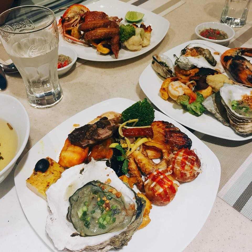 Buffet hải sản cao cấp Địa trung Hải tại Hoàng Yến