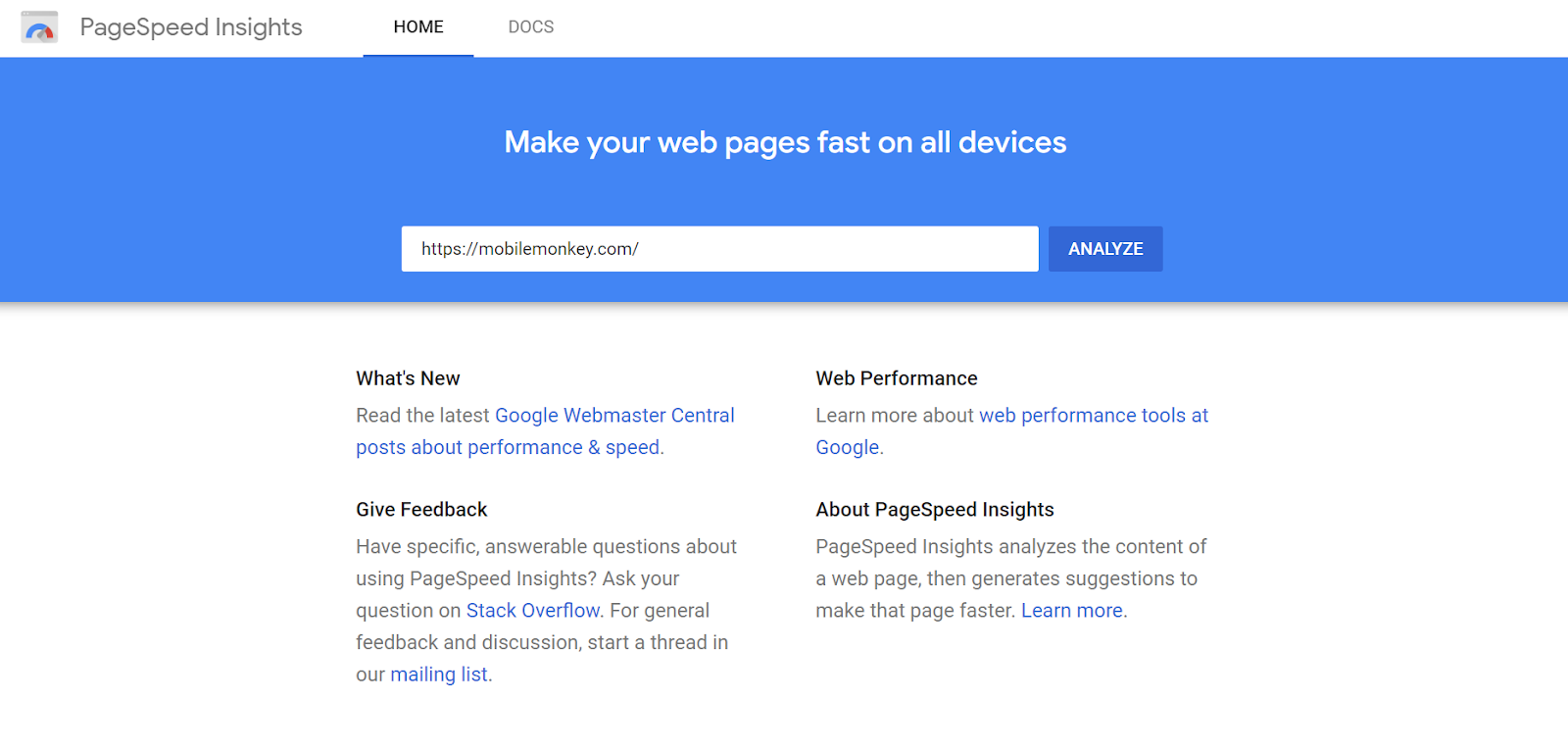 conversion rate optimization tools for page speed