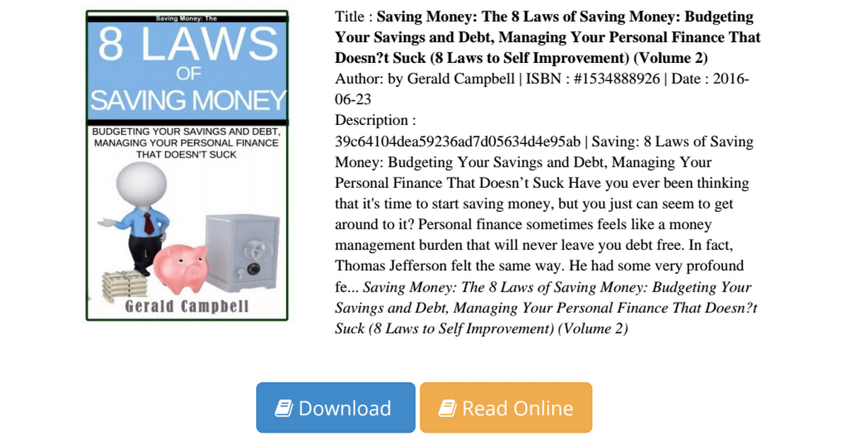managing personal finances essay Personal finance management personal finance management is a topic that very few actually understand there were no finance classes given when i was coming into adulthood so i had no understanding of credit scores, credit reports, and credit cards.