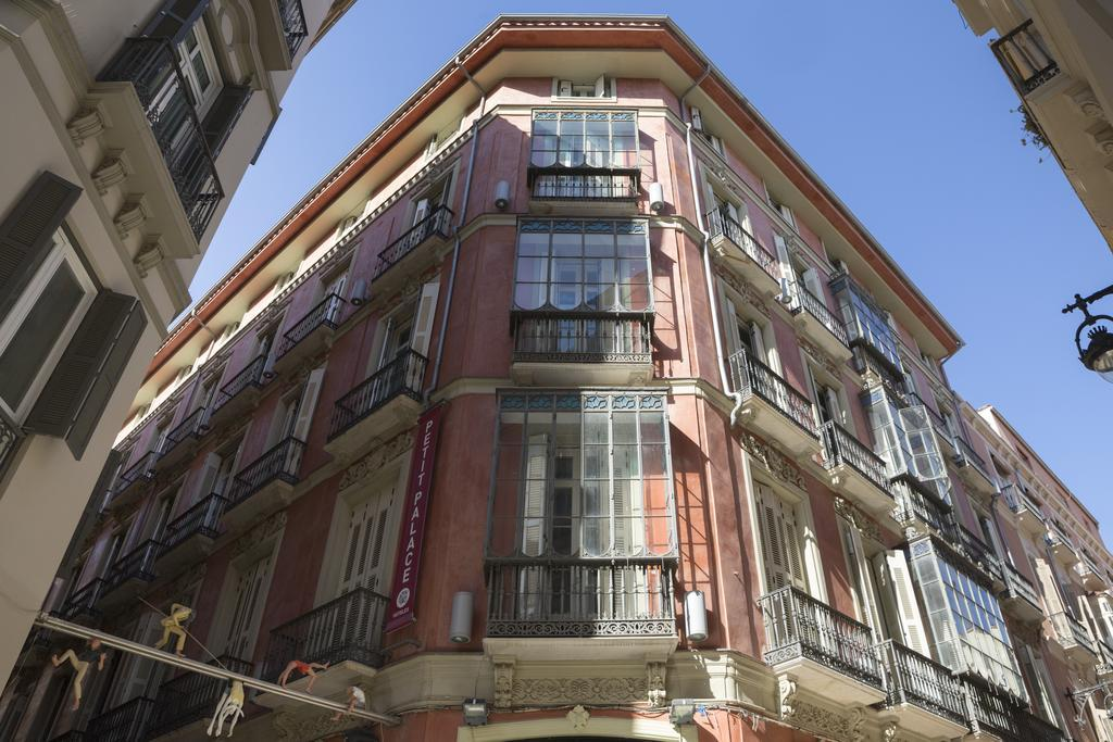 Fachada de Petit Palace Málaga Hoteles málaga capital