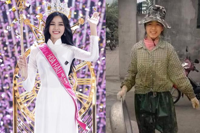 Hoa hậu Đỗ Thị Hà chia sẻ bản thân rất trân trọng những tháng ngày làm nông /// ẢNH: BTC, CHỤP MÀN HÌNH