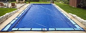 swimming pool with water tube cover