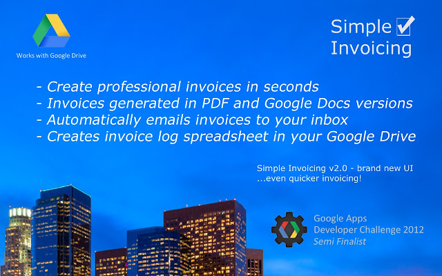 simple invoicing - chrome web store, Invoice templates