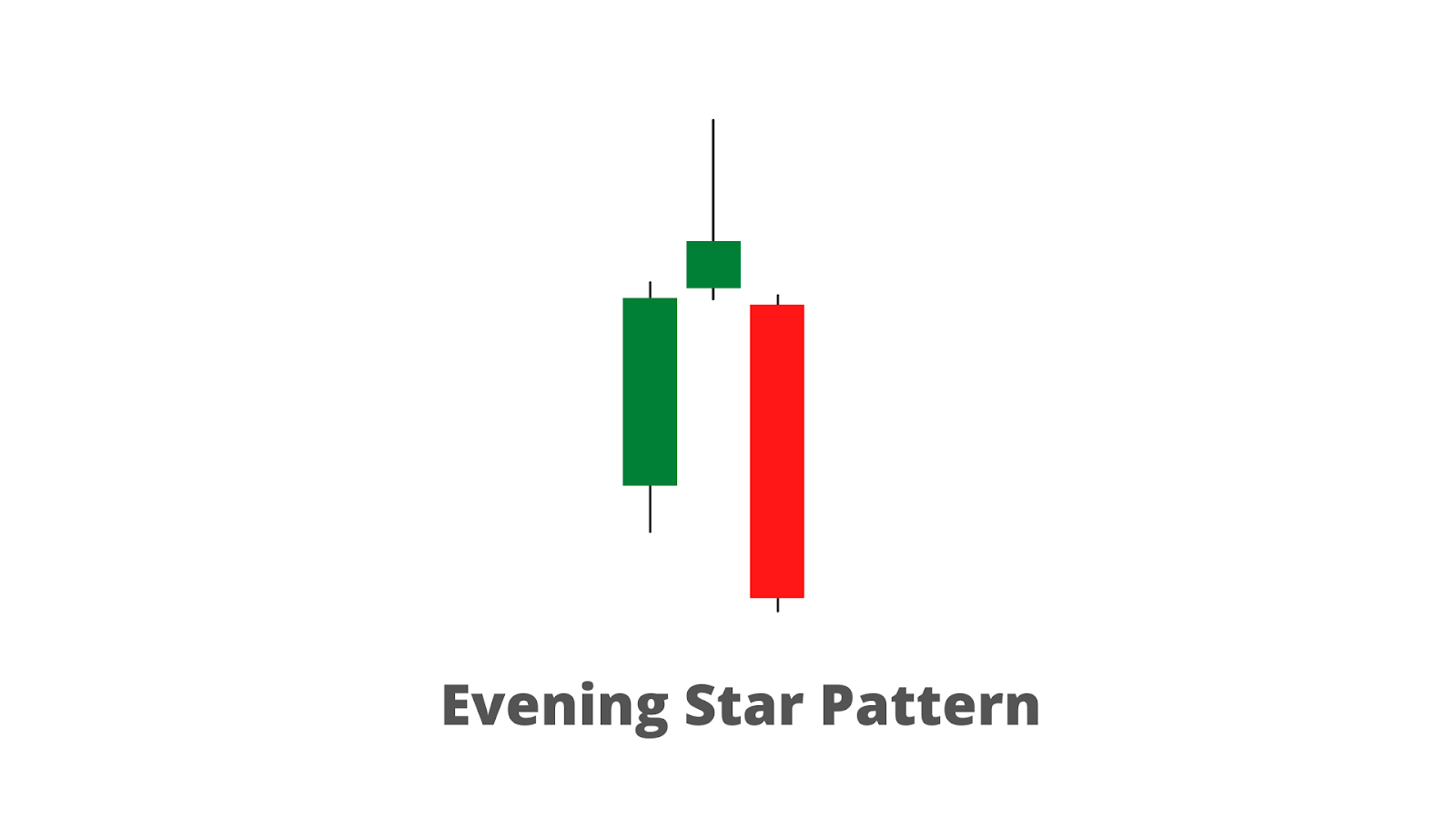 An evening star pattern formation.