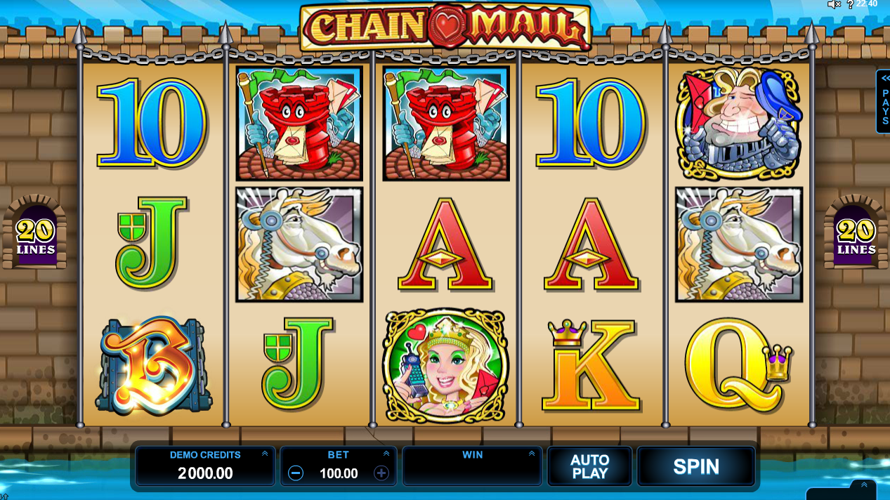 Chain Mail Slots Game Review