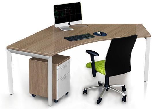 Thiết kế bàn làm việc dành cho nhân viên văn phòng vô cùng hiện đại TBN-C1