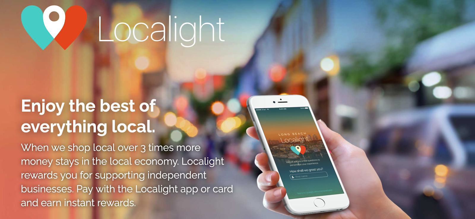 Localight website banner | Influencer programs fro collab opps