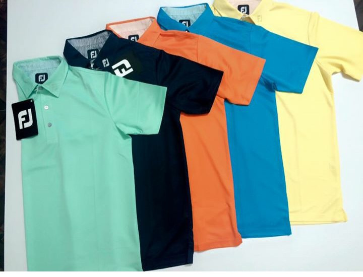 Áo golf FJ thiên về phong cách mộc mạc, giản dị
